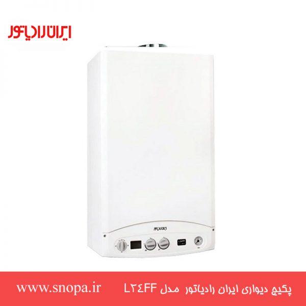 پکیج شوفاژ دیواری ایران رادیاتور 24000 مدل L24FF