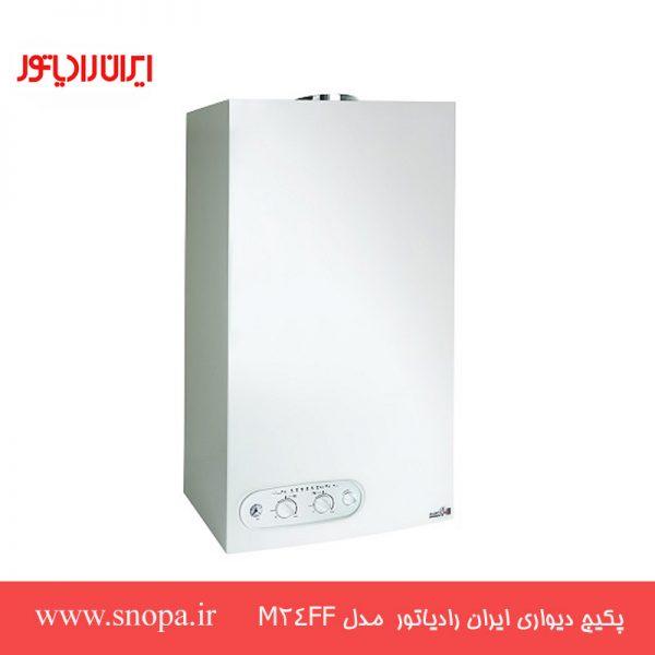 پکیج شوفاژ دیواری ایران رادیاتور 24000 مدل M24FF